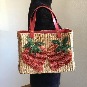 Hype Strawberry Tote